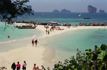 insel krabi thailand